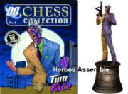 DC Chess Figurine Collection #06 Two Face Black Knight Eaglemoss